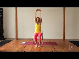 Chair Yoga Class Sequence 3 Minute Chair Yoga Sequence Youtube