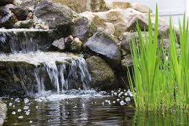 backyard pond waterfalls u2013 how to build a pond waterfall in the