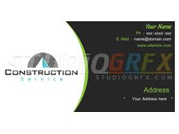 Business Card For Construction Company 15 Best Business Card Designs Images On Pinterest