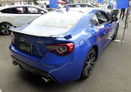 subaru supercar file the rearview of subaru brz s dba zc6 with optional parts