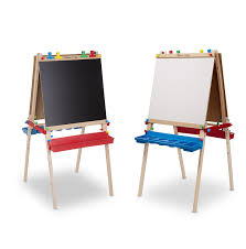 best easel for toddlers amazon com melissa doug deluxe standing easel melissa doug