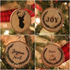 christmas personalized personalized wood slice christmas ornaments gifts hometalk