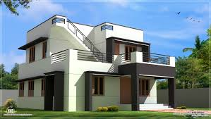 designs homes design single story flat roof house plans best best