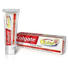 Famosos Creme Dental Colgate Total 12 Clean Mint com 90 Gramas - Ultrafarma &KJ03