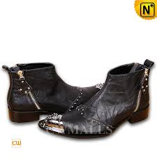 cwmalls mens leather ankle dress boots cw706358