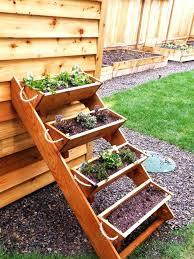 Diy Vertical Herb Garden Planters Vintage Style Wooden Herb Planter Box Diy Garden Indoor