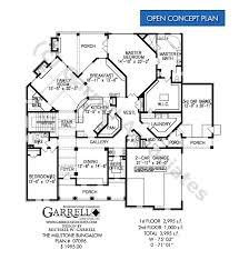 Bungalow Plans Millstone Bungalow House Plan House Plans By Garrell Associates