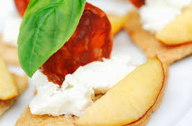 goats cheese canape recipes canapés with chorizo and goat s cheese tesco food