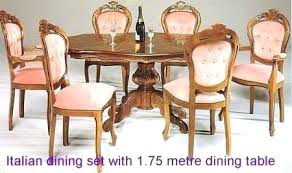 modern dining table set italian room u2013 dining room table and chairs