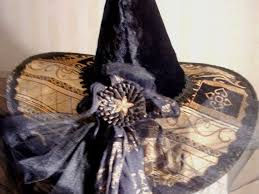 Witch Decorating Ideas 90 Best Witches Hats Diy Images On Pinterest Halloween Ideas