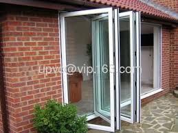 Folding Doors Patio Balcony Patio Bi Fold Door From China Manufacturer Wuxi Vika