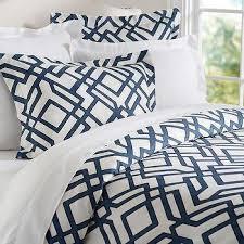 Nate Berkus Duvet Cover Blue And White Geometric Duvet Cover Products Bookmarks Design