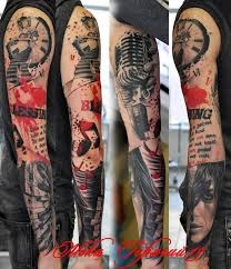 vintage music sleeve tattoos golfian com
