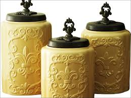 Canister Kitchen Set 100 Decorative Canisters Kitchen 100 Cute Kitchen Canisters