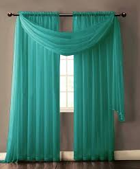 Cheap Turquoise Curtains Turquoise Sheer Curtains Teawing Co