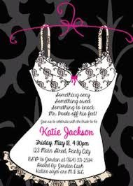 Lingerie Party Invitations Lingerie Shower Invitations Or Bachelorette Party Something