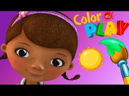 doc mcstuffins color play doc u0027s check room coloring
