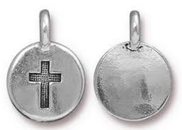 engravable charms cross charm silver lizzy engravable charms