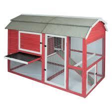 dog barn petmate old red barn ii chicken coop hayneedle