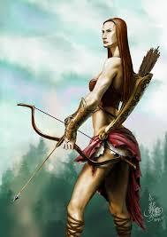 amazon warrior image amazon warrior woman with bow arrow and armor 1 jpg