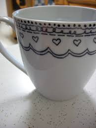diy sharpie mug the yarn to tell