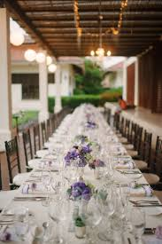 Purple Table L 19 Purple And White Table Settings Purple And White Wedding Table