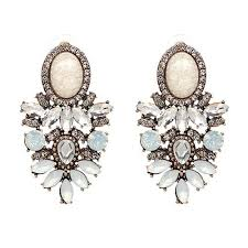 rhinestone earrings new arrival wholesale quality big earring 2017 new