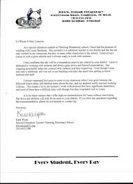 letter of recommendation special education teacher image