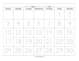 blank 30 day calendar template u2013 october halloween calendar
