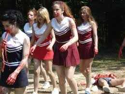 Zombie Cheerleader Classic Zombie Cheerleader Camp By Lindsey Kruichak Cinemasnob