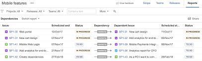 sample bug report using the dependencies report atlassian documentation