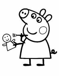 peppa pig coloring pages felt quiet books rock