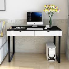 Stylish Computer Desks Modern Stylish Computer U0026laptop Desk With Drawers Many Colors And