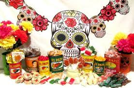 Mexican Gift Basket Fiesta Decorations For Wedding El Pato Mexican Tin Cans Set Of