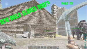 ark survival evolved ep3 sloped roof base build beta 206 0 youtube