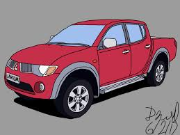 mitsubishi triton 2008 drawings of cars ask me if you want me to draw your car beamng