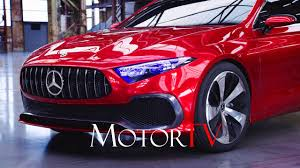 future mercedes benz cars all new 2018 mercedes benz concept a sedan l future of compact