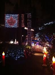Flag Lights File Canada Flag Christmas Lights Stanely Park Vancouver Jpg