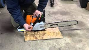 tuning a stock stihl ms460 youtube