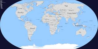 Indonesia World Map by Vietnamese Names For The Countries Of The World Maps On The Web