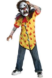 kids horrorland clown screamer costume