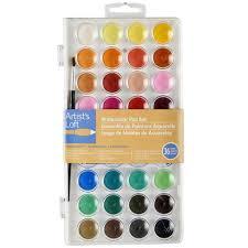 artist u0027s loft fundamentals watercolor pan set