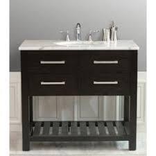 Bathroom Vanity Ls 35 5 Gemini Single Bathroom Vanity Espresso Bathgems