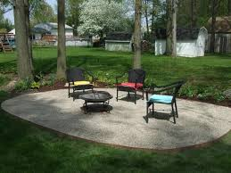 Stone Patio Designs Pictures by Pea Gravel Patio Materials Patio Construction Details Fire Pit