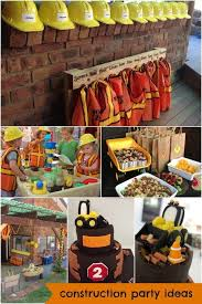 birthday themes for boys best 25 digger birthday ideas on digger party