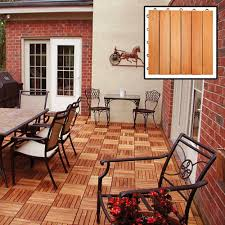 Snap Together Patio Pavers by Outdoor Wood Deck Tiles Patio Snap Together Interlocking Decking