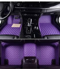 purple subaru custom fit car floor mats case for subaru forester 2006 to 2017