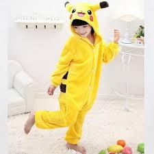 Pikachu Costume Online Shop Boy Yellow Pikachu Costume Halloween Costume Nylon