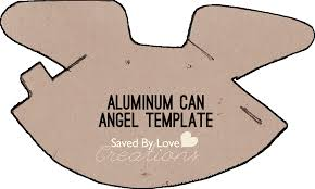 Make Aluminum Can Angel Ornaments