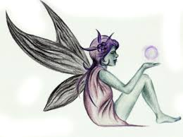 fairy in the moon girls tattoo design picture tattoomagz